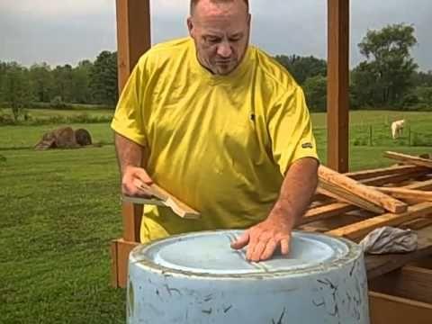 Make a Compost Barrel,  Part I