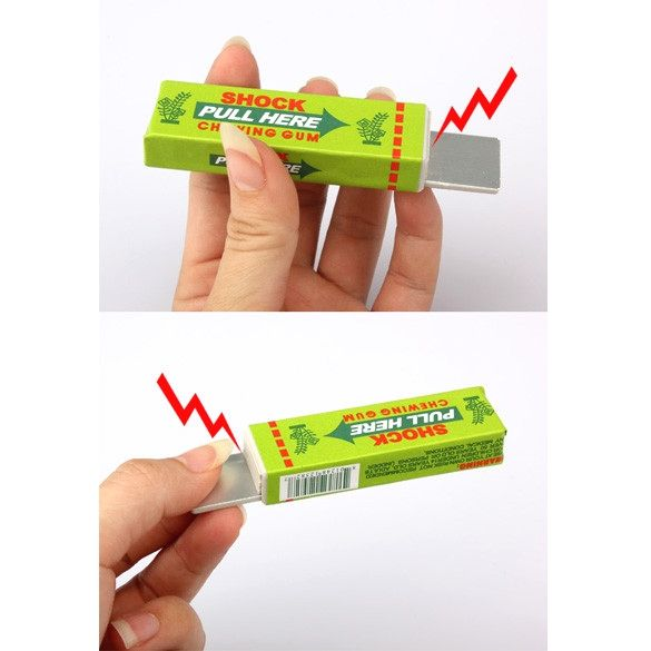 Electric Shock Joke Chewing Gum Pull Head Shocking Toy Kids Children Gift Gadget Prank Trick Gag Funny Toys (Random Color)   http://www.dealofthedaytips.com/products/electric-shock-joke-chewing-gum-pull-head-shocking-toy-kids-children-gift-gadget-prank-trick-gag-funny-toys-random-color-2/