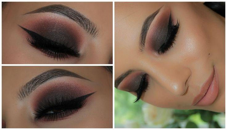 Dark Smokey Eye | Anastasia Modern Renaissance Palette Vol.2 | Amys Makeup Box - YouTube