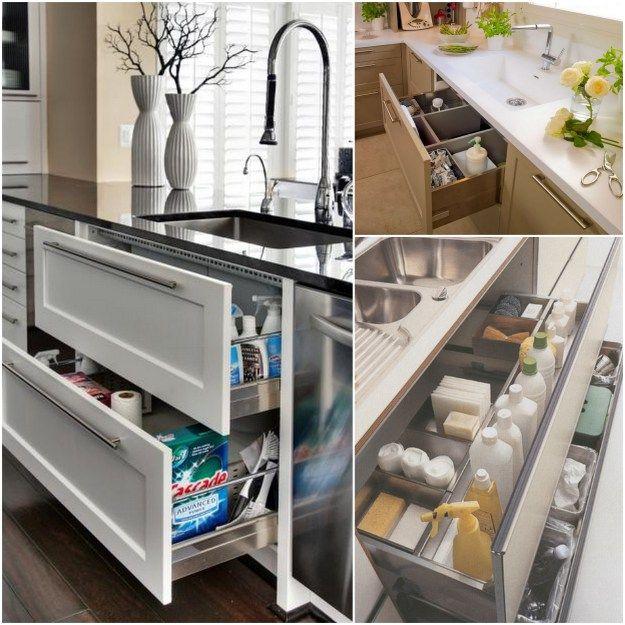 Kitchen Storage Under Sink Organizer: Best 20+ Under Sink Storage Ideas On Pinterest
