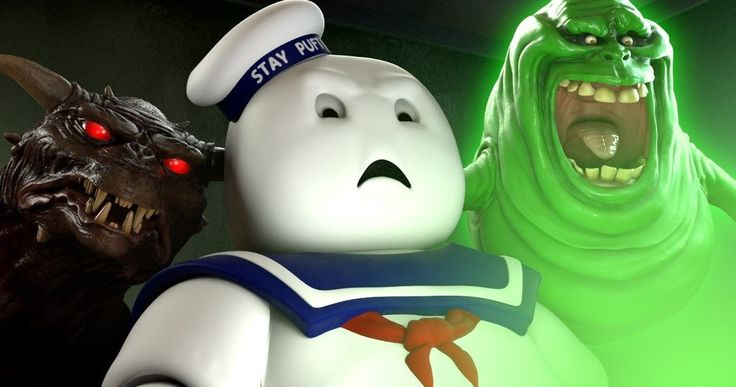 The Stay Puft Marshmallow Man suffers a horrible fate at his own hands after watching Paul Feig's 'Ghostbusters' trailer.