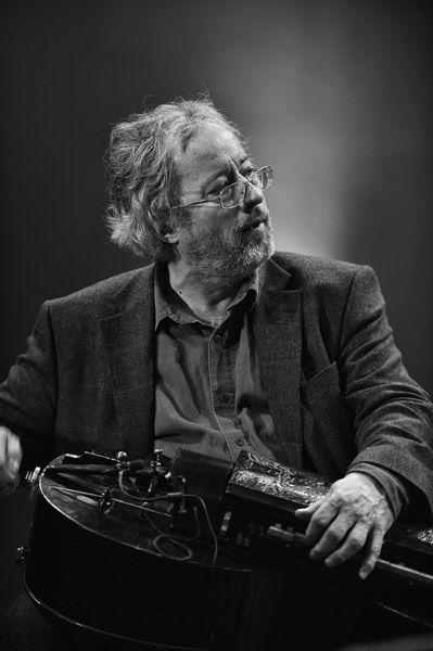 Ferenc Sebö (1947) - Hungarian folklorist and musician. Photo Tamas Talabér