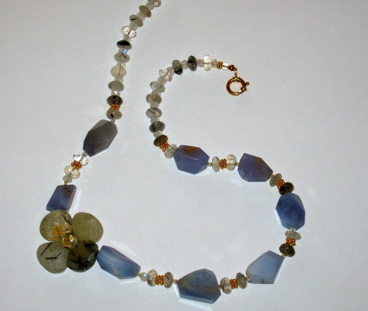 Chalcedony and Crystal Quartz