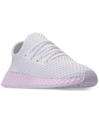 3ca202f05c081 adidas Women s Deerupt Runner Casual Sneakers from Finish Line Shoes - Finish  Line Athletic Sneakers - Macy s