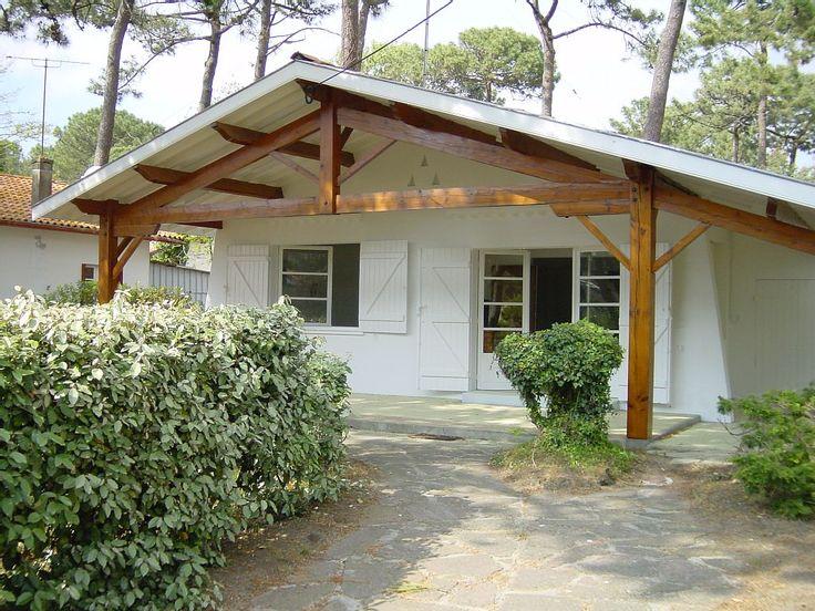 Location vacances maison Biscarrosse Plage: vue depuis le parking