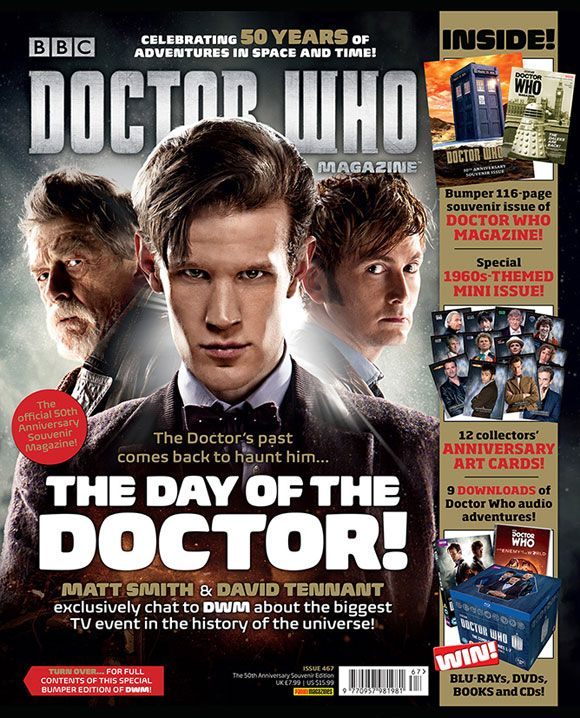 Doctor Who Magazine issue 467