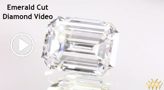 Emerald Cut Diamond Video - Emerald cut diamonds hold great appeal to many for their understated elegance.