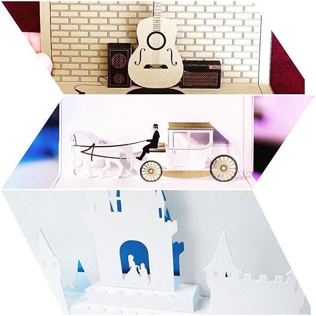 Găsești felicitări și invitații 3D doar la #fabricadefelicitari ! #creativ #madeinromania #recycledpaper #handmade #felicitari3d #invitatii3d #event #romanesc #chitara #caleasca #castel #jamsession #musiclover