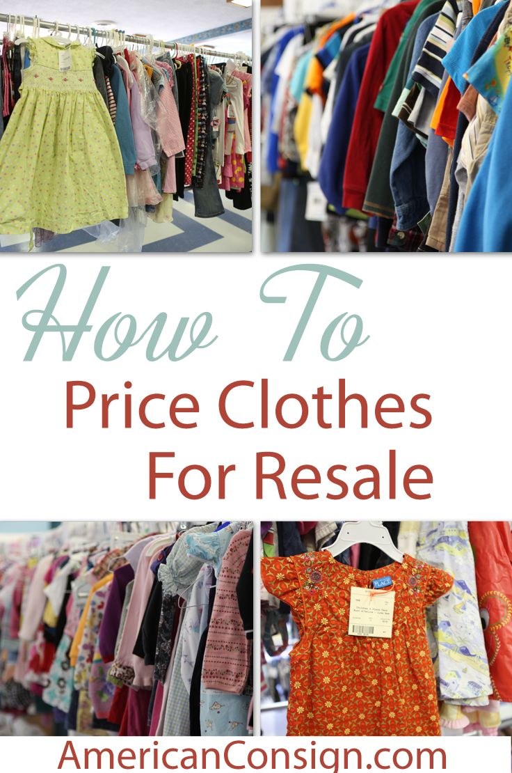 Selling clothes to thrift stores
