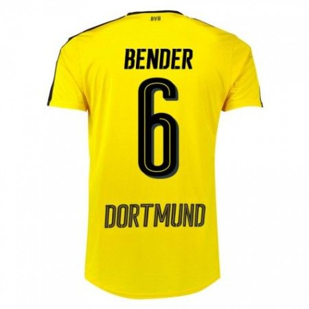 BVB Borussia Dortmund 16-17 Sven #Bender 6 Hemmatröja Kortärmad,259,28KR,shirtshopservice@gmail.com