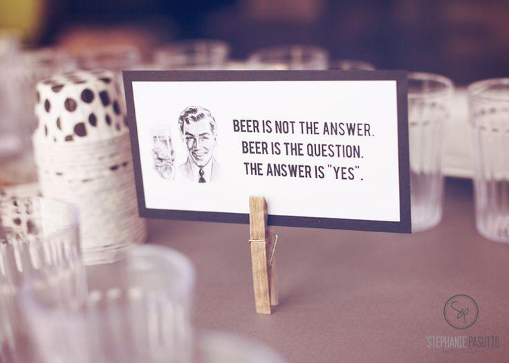cute beer card