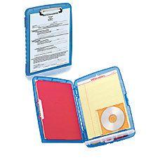 Office Depot Brand Portable Clipboard Storage