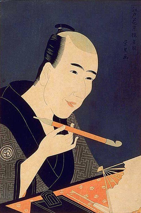 山東京伝の肖像画