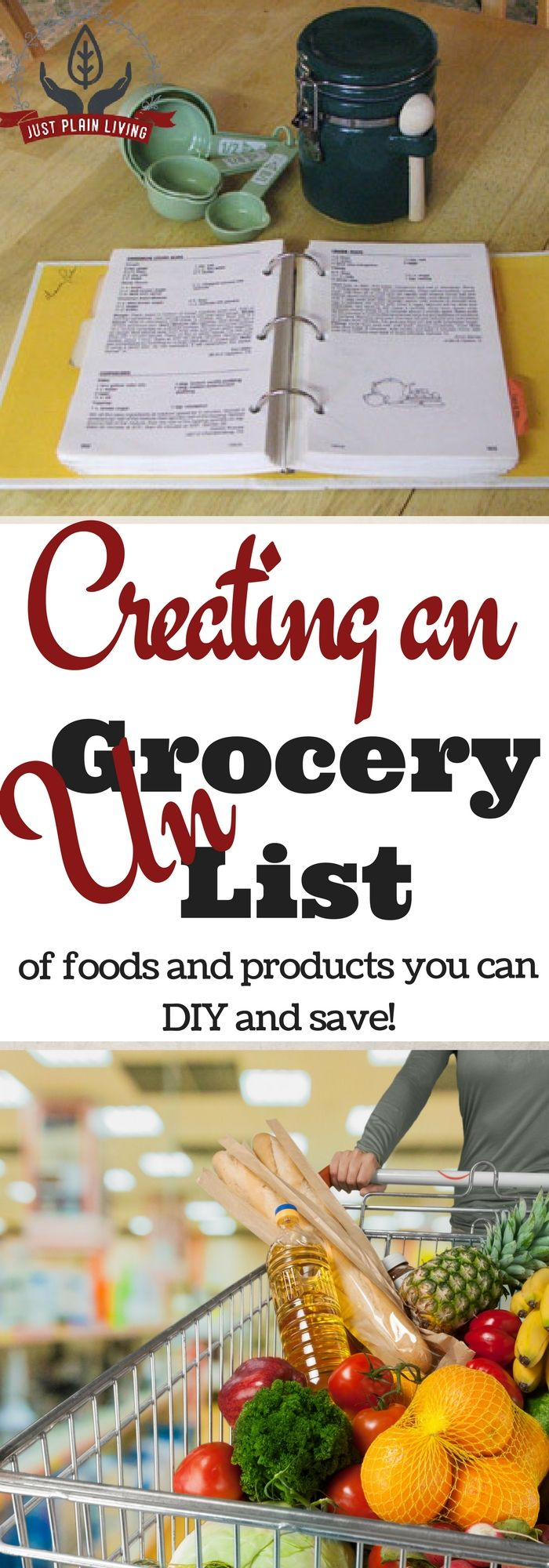 There are so many things that you can make at home instead of buying! Start creating your ungrocery list!