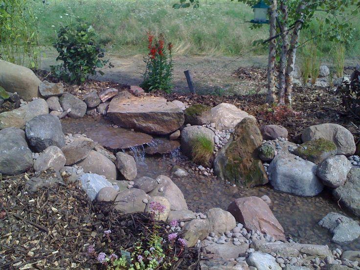 Woodland Garden Pondless Waterfall