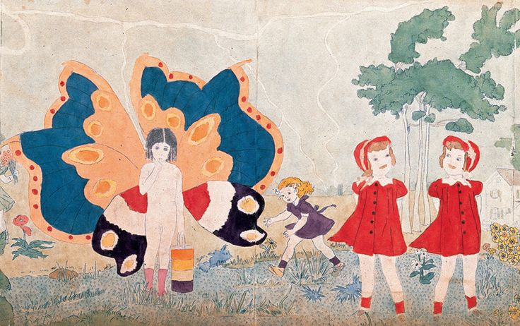 story of henry darger, by day he worked as a janitor and otherwise escaped to his realm of the unreal