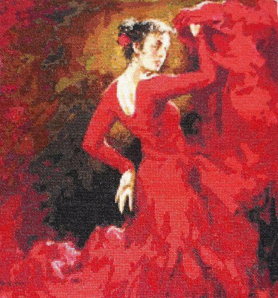 Tancerka flamenco - Joanna-136 - Ozdoby na ścianę