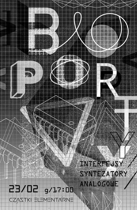 CZĄSTKI ELEMENTARNE / POSTERS & WALL DESIGN by gosia stolinska, via Behance