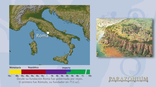 """La """"Saga"""" del Imperio Romano para niñ@s, para papás, para mamás, para abuelit@s y para todos los curios@s"""