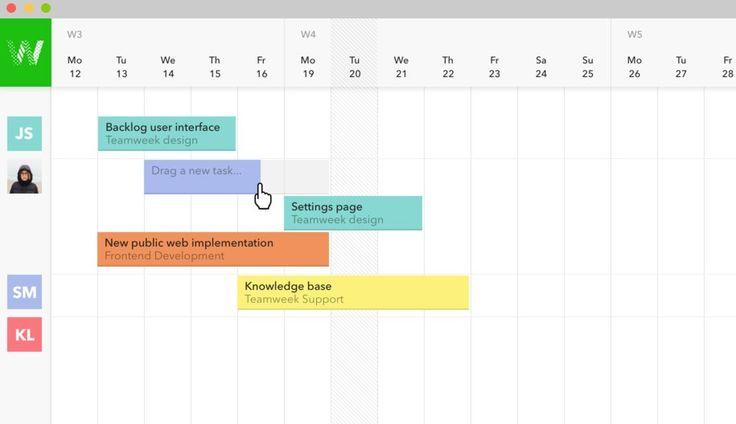El mundo de los calendarios online no termina en Google, hay más opciones que vale la pena revisar, y teamweek es una de ellas. Se trata de un sistema de g