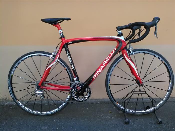PINARELLO PRINCE CARBONIO - in carbonio taglia 55 montata shimano ultegra 10v, ruote...