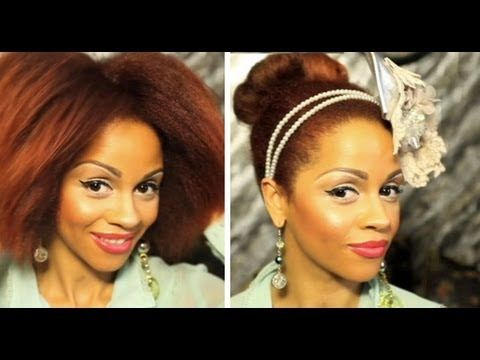 Natural Hair Journey: From Big Afro To Slick Bun by Peeks (The MOAM Network)