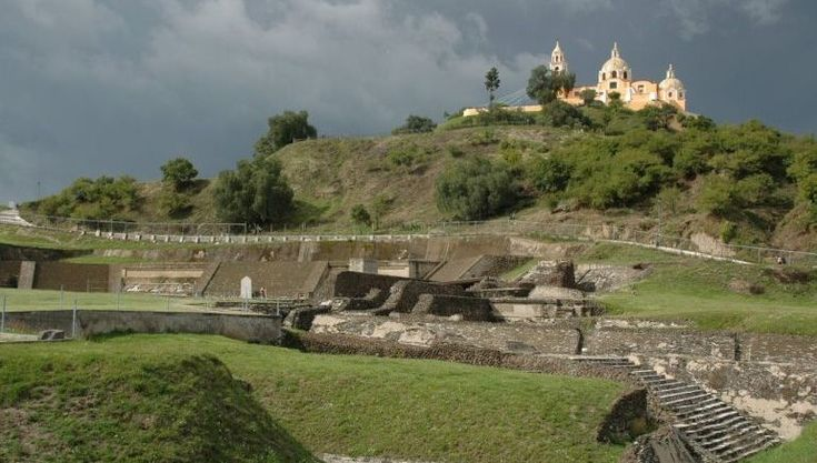 The World's Largest Pyramid (By Volume) Is Twice As Large As The Great Pyramid Of Giza. https://www.realmofhistory.com/2016/08/27/great-pyramid-of-cholula-world-largest-pyramid/ and http://www.guinnessworldrecords.com/world-records/largest-pyramid/ (Comparing it to the Great Wall is like comparing apples to oranges.