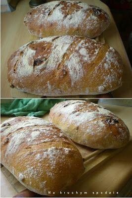 Chleb z orzechami laskowymi i suszonymi śliwkami - J. Hamelman
