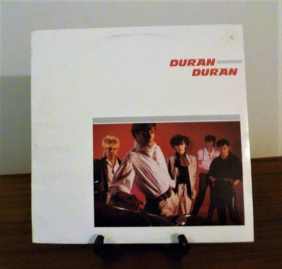 $16      Vintage 1981 Duran Duran Self TItled Vinyl LP Record Album Released by EMI Records / Electronic New Wave Pop Music / Excellent Condition