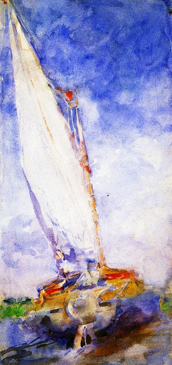 On the Broads Jack B. Yeats, R.H.A.