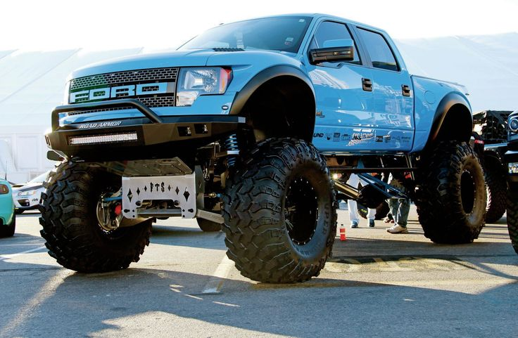 From desert race vehicles to monster dualies, take a look at some of our favorite lifted trucks that we saw at the 2014 SEMA Show.