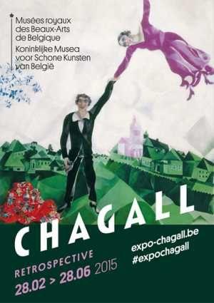 Musées royaux des Beaux-Arts - Koninklijke Musea voor Schone Kunsten van België / CHAGALL / RETROSPECTIVE 28.02 > 28.06 2015 / expo-chagall.be / #expochagall