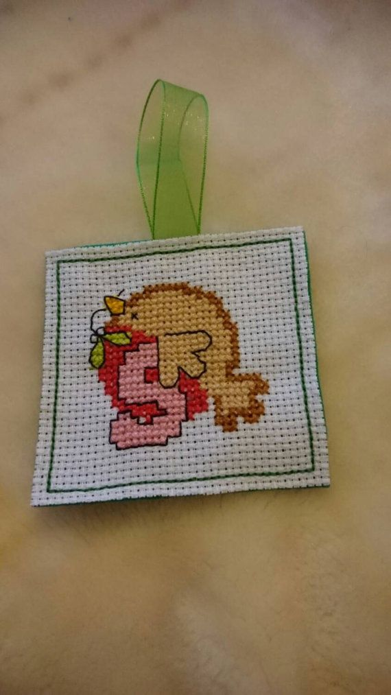 Check out this item in my Etsy shop https://www.etsy.com/uk/listing/248607994/cross-stitched-christmas-trimming
