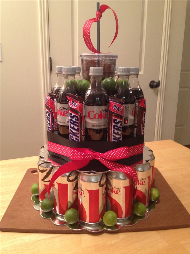diet Coke cake...my first pin that I imagined and created!