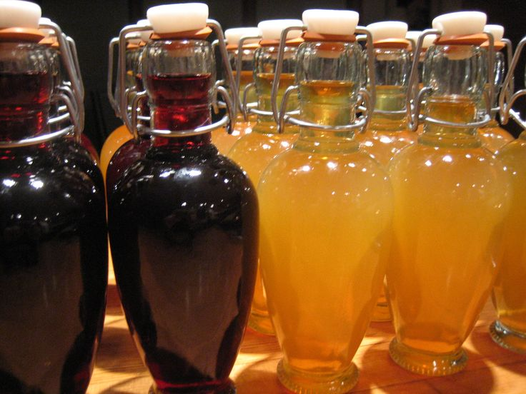 Cherry Cordial and Apricot Brandy recipes.  What a great addition to a gift basket!