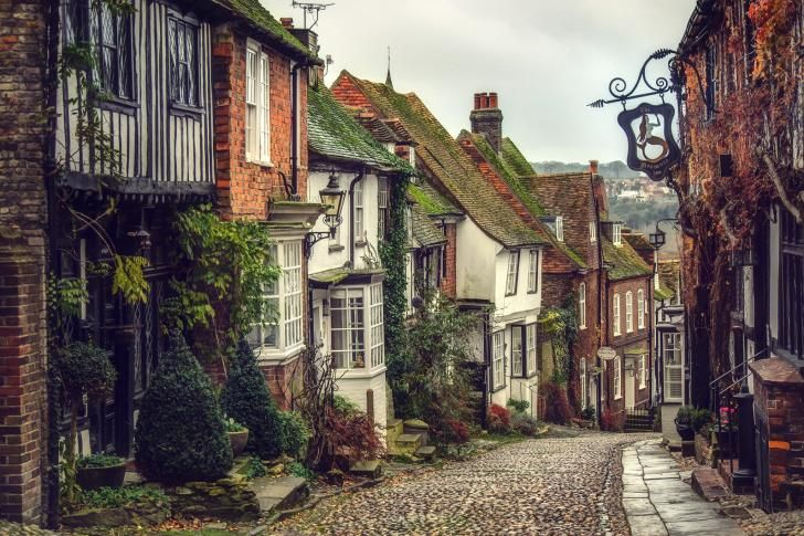 Rye, East Sussex, England.