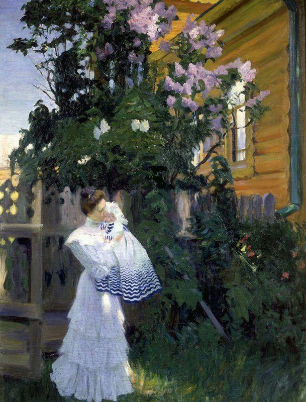 Борис Кустодиев - Сирень | por irinaraquel