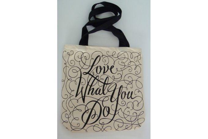 """Do What You Love"" Tote bag by Lionheart"