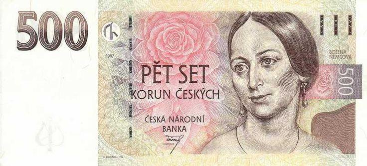 Banknote 500 Czech Koruna