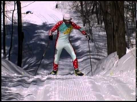 Fundamentals of Cross country Ski technique.  30 min instructional video