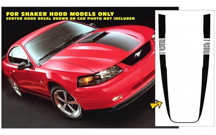 2003-04 Mustang Mach 1 Wrap Around Stripe - MACH 1 Name