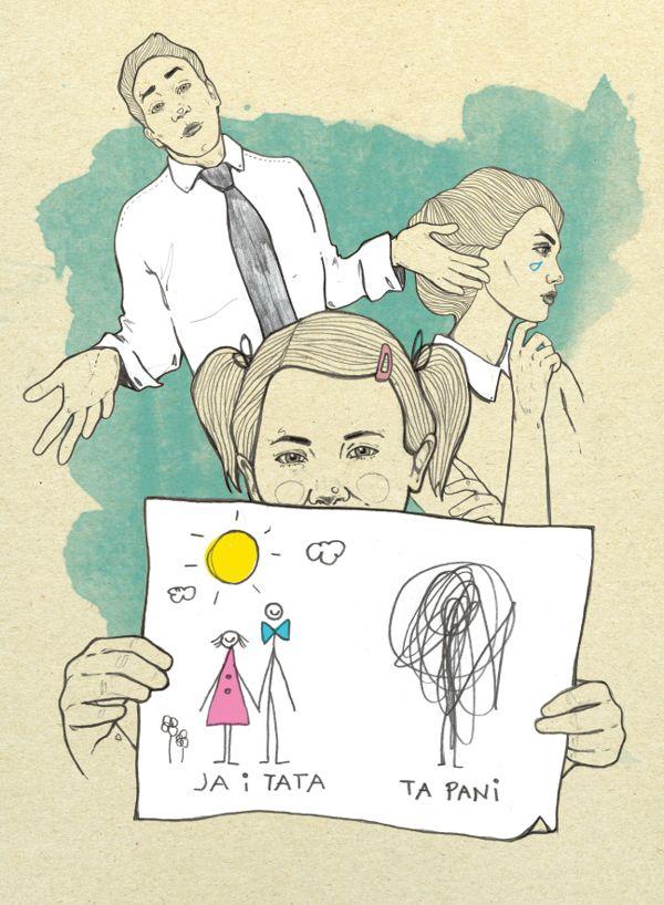 Charaktery październik by Magdalena Pankiewicz, via Behance