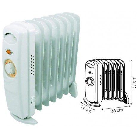 Achat/vent chauffage EUROMARINE Radiateur bain d'huile 450W 220V pour l'équipement des bateaux et camping-cars