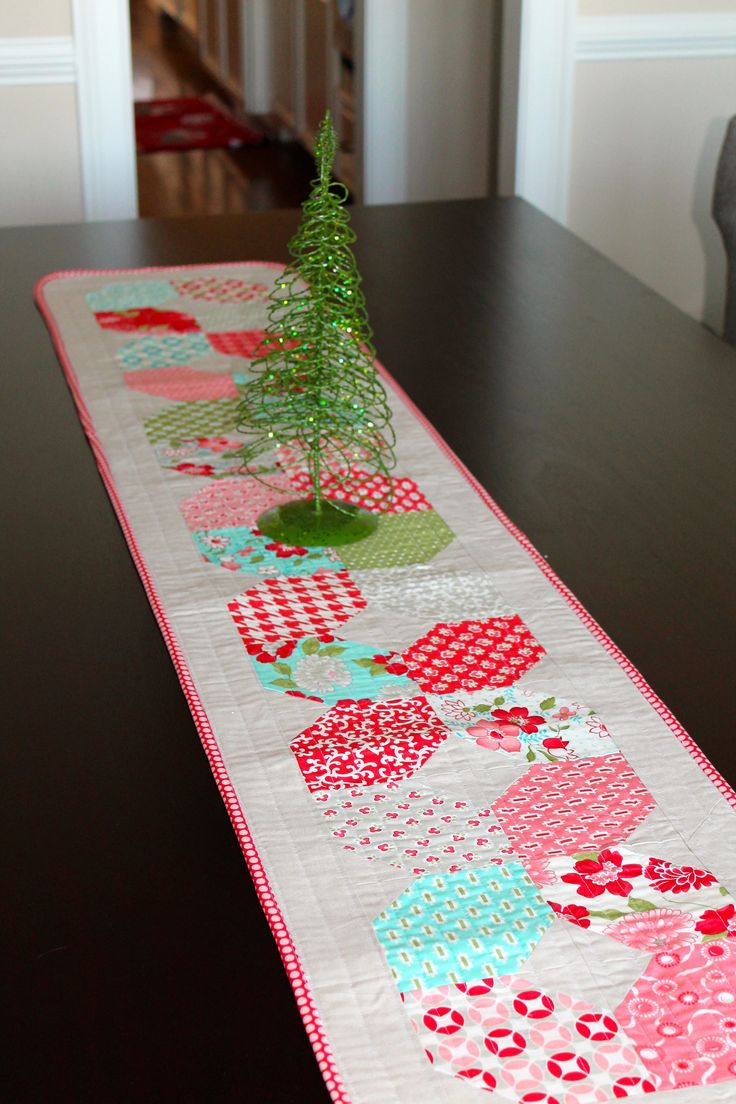 best  modern table runners ideas only on pinterest  quilted  - vintage modern table runner  by kelbysews
