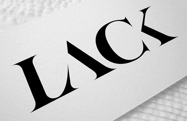 LACK magazine identity / 2011 on Behance #logotype #branding #serif by Kissmiklos