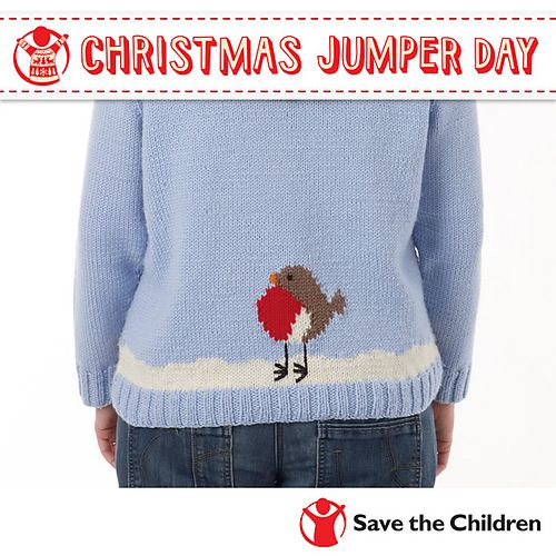 Free Pattern: Save the Children's Christmas Jumper Day by Sue Stratford