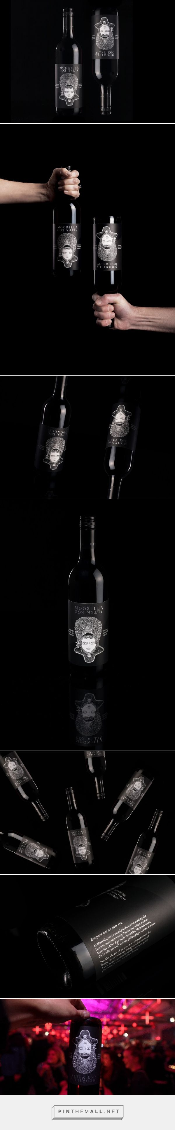 Every #wine #label should have a hidden pirate - #design by MONA - Museum of Old and New Art - http://www.packagingoftheworld.com/2017/06/moorilla-alter-ego.html