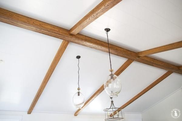 14 Best Faux Beams Images On Pinterest