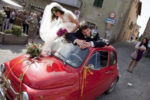 Summer wedding in Tuscany