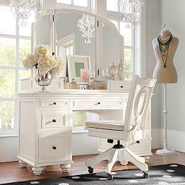 Bedroom Vanities, Vanities For Bedrooms U0026 Girlsu0027 Vanities   PBteen
